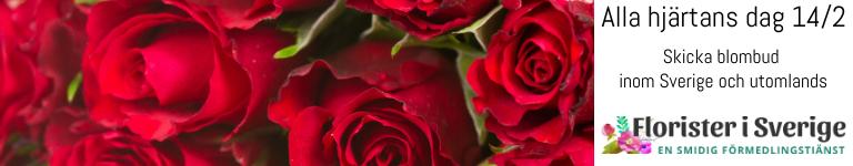 Beställ ett blomsterbud online hos Florister i Sverige