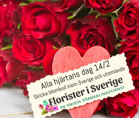 Skicka blomsterbud - beställ enkelt online hos Florister i Sverige.
