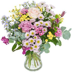 """""""Floristens sommarmix"""" - låt floristen skapa en fantastisk sommarbukett! Ett alternativ hos Euroflorist."""