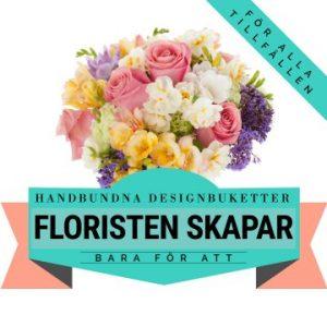 Låt floristen skapa en sommarbukett med blommor i milda, ljuva färger! Ett alternativ hos Florister i Sverige